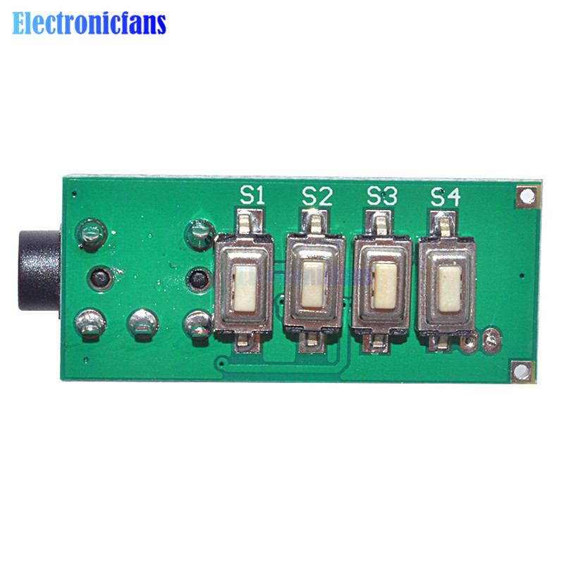 1.8V-3.6V MCU Digital Frequency Stabilization Stereo FM Radio Receiver Module 70-108Mhz Micrcontroller GS1299