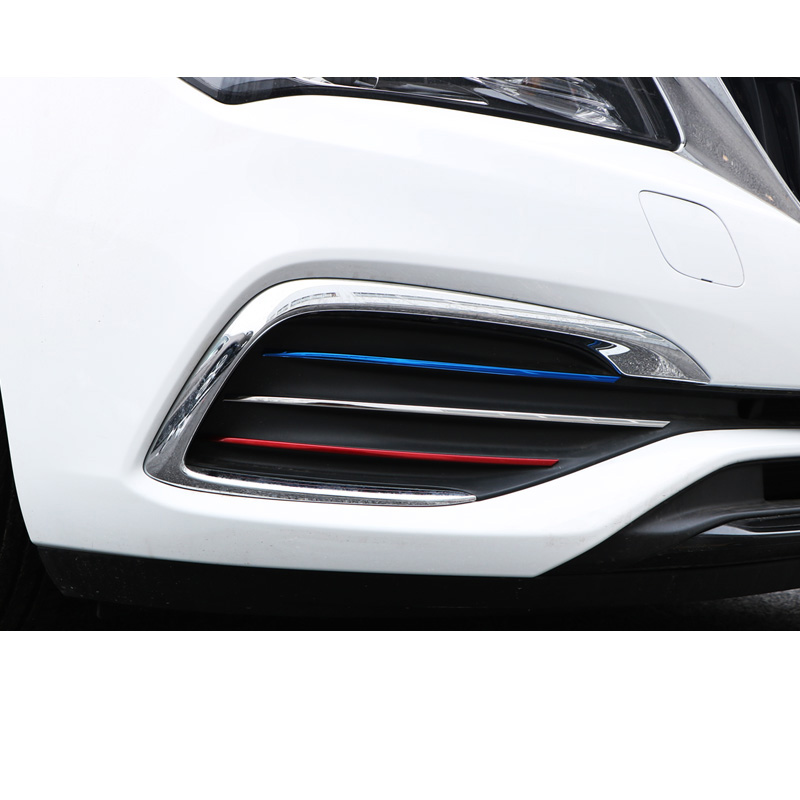 Lsrtw2017 Stainless Steel Car Foglight Frame Strip Trims Car Accessories For Opel Astra K 2018 2019
