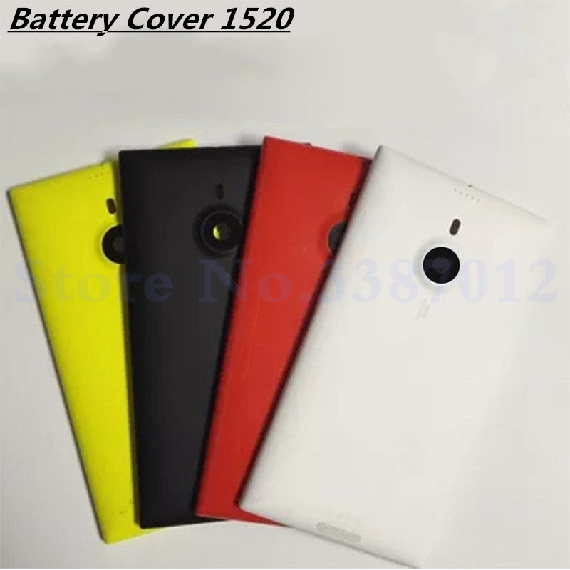 Vecmnoday New Battery cover for Nokia Lumia 1520 Back Cover Rear Cover Housing + Side Button Free Shipping