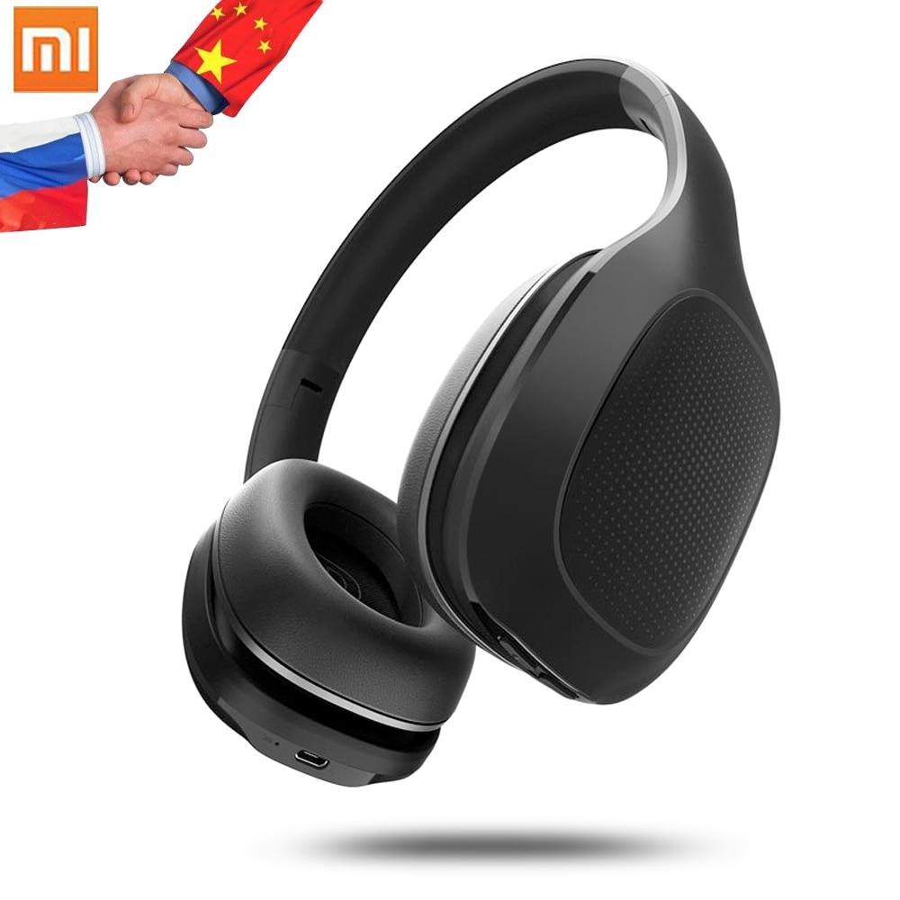 Original Xiao mi mi Bluetooth Drahtlose Kopfhörer 4,1 Version Bluetooth Kopfhörer aptX 40mm Dyna mi c PU Headset Für handy-in Handy-Ohrhörer und Kopfhörer Bluetooth aus Verbraucherelektronik bei AliExpress - 11.11_Doppel-11Tag der Singles 1
