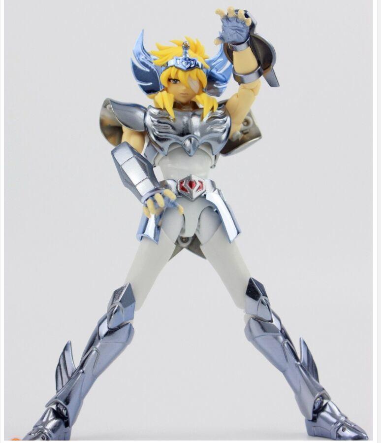 In magazzino OTTIMO GIOCATTOLI finale Cygnus HYOGA V3 EX GT modello Bronze Saint Seiya action figure armatura metallica