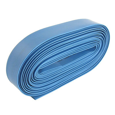 Blue 14mm Dia Polyolefin 2:1 Heat Shrink Tubing Wire Wrap Cable Sleeve 10M 33Ft retardant heat shrink tubing shrinkable tube diameter cables 120 roll sale