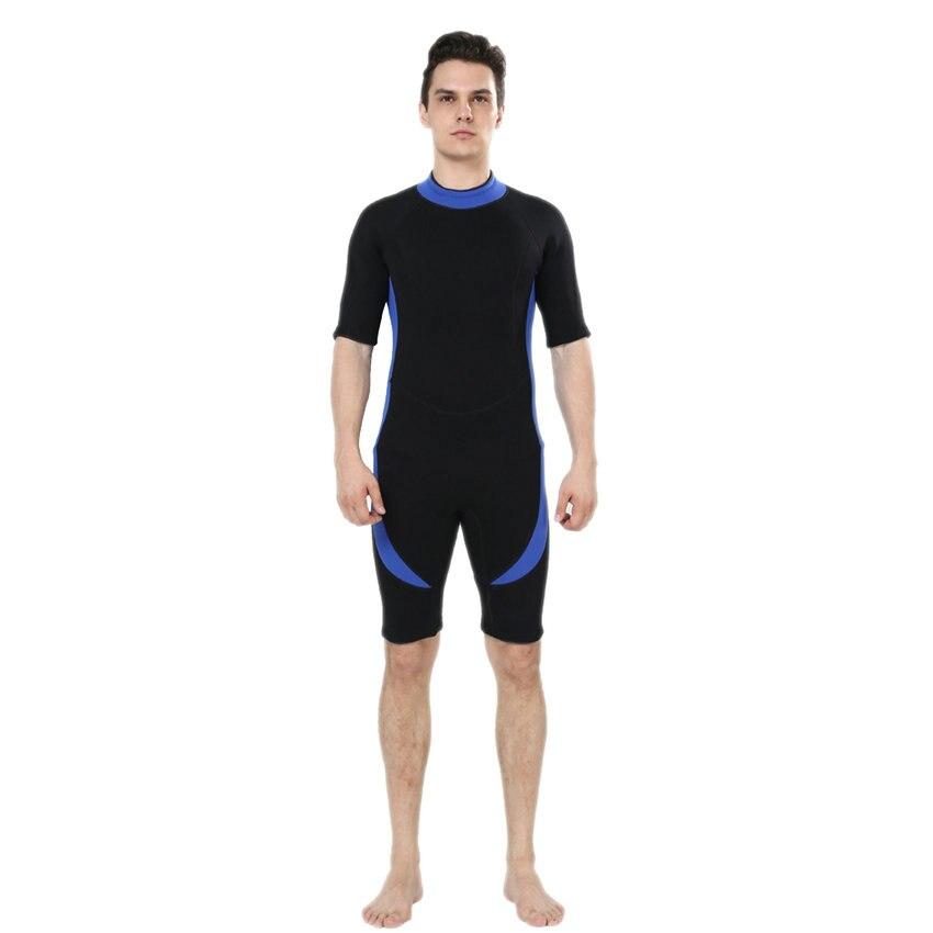 REALON 3mm traje de Neopreno Shorty de Neopreno traje de Baño Para Hombre Las Mu