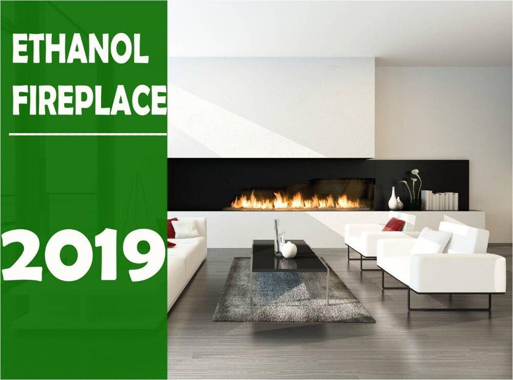 On Sale 48 Inch Larira Bio Etanol Electric Fireplace Remote