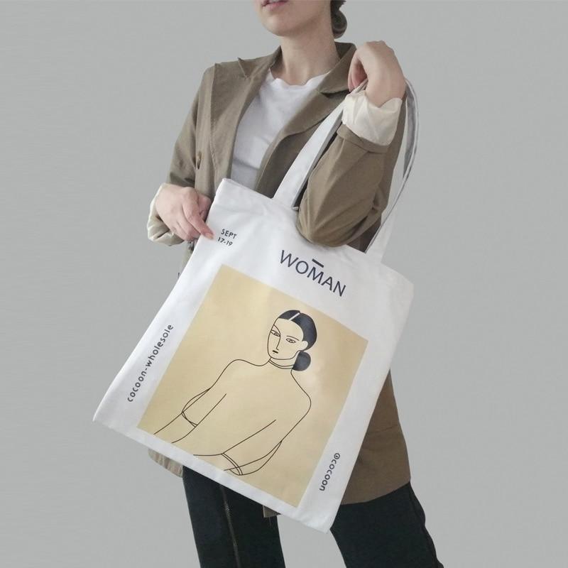 Women Canvas Shoulder Bag Henri Matisse Painting Printing Ladies Shopping Bag Feminina Simple Eco Pure Cotton Cloth Handbag Tote|Shoulder Bags| - AliExpress