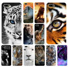 299FG Snow animal lion tiger Eyes animals tigers Soft Silicone Tpu Cover Case for huawei Honor 7a 5.45 pro 5.7 7c 7x y5 2018(China)