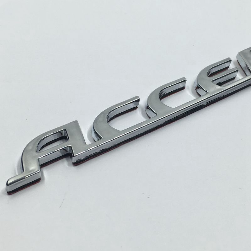 "Hyundai Accent /"" ACCENT /""  Decklid  Emblem Nameplate Fits"