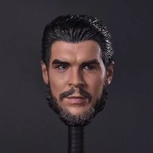 1/6th Che Guevara Head Sculpt For 12in Male Doll Figure Body Model Toy