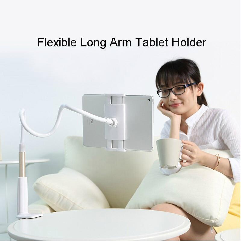 Vpower Soporte de almohadilla de mesa de brazo flexible de 360 - Accesorios para tablets - foto 2