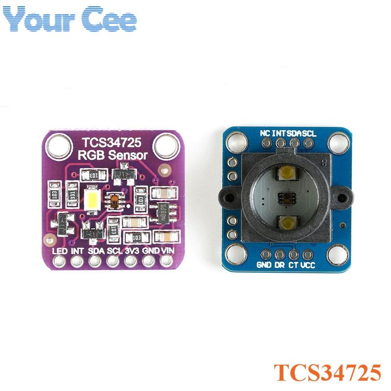 TCS34725 Color Sensor RGB Color Sensor Development Board Module Diy Electronic PCB Board For Arduino