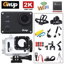 Gitup Git2P WiFi 1.5″  LCD Screen 1080P Full 170 degree Wide Angle Professional Action HDMI USB Sports Waterproof Video Camera