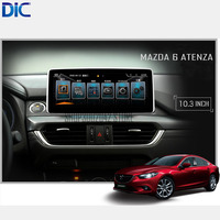 DLC Android Navigation System Multifunction Car Audio GPS Video System 4 Core 10 3 Inch Bluetooth
