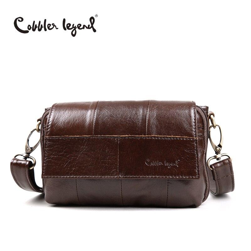 Cobbler Legend Original Women's Messenger Bag Genuine Leather Small Handbags Vintage Crossbody Shoulder Bags For Women #803211