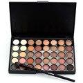 2016 Novos Pigmentos Fosco Conjuntos Com Pincéis de Maquiagem À Prova D' Água 40 Cores Smoky Olhos Sombra Paleta de Sombra Brilho Maquiagem Nude