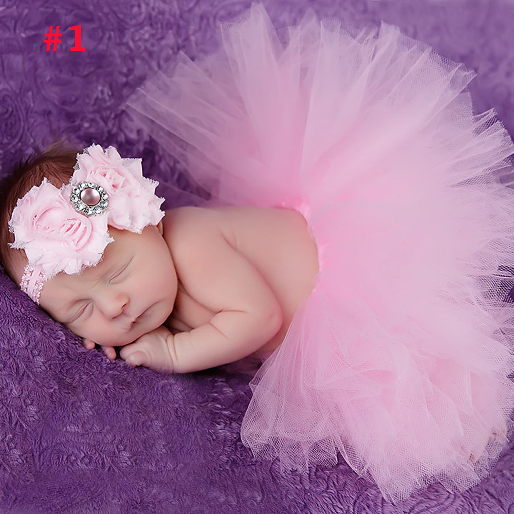 Princess-Newborn-Tutu-and-Vintage-Headband-Newborn-Baby-Photography-Prop-Birthday-Sets-For-Baby-Girls-TS001-2