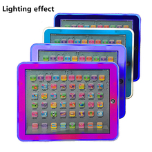 Tablet Language Learning Machine Alphabet Baby Tablet Educational Toy for Kid Electronic Touch Tablet Computer Gift Toy Kids kids children tablet educational learning toys gift for girls boys baby learning machine educational teach toy pad mini pc