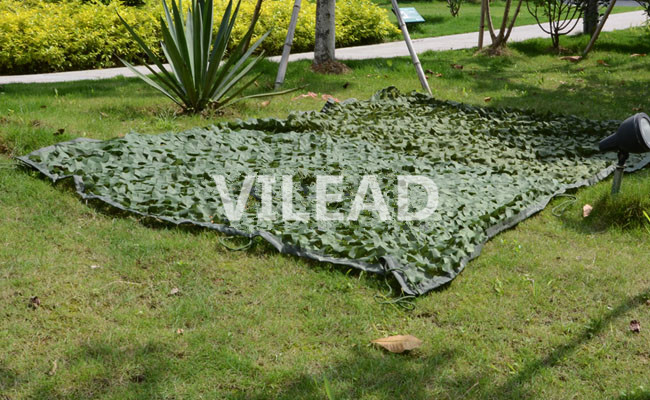 VILEAD 4M*6M Green Camouflage Netting Filet Camo Net Camo Tarp Army Tarp Camping Sun Shade Hunting Shelter Camo Jungle Netting vilead 9 colors 3m 10m camouflage netting reusable camo net for hunting camping sun shade party decoration outside sun shade