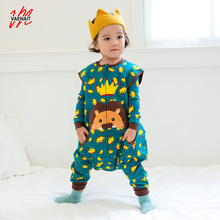 Baby Boys Girls Rompers Cotton SLEEP Bags Infant Girl Boy Romper For Children Toddler 2016 New Jumpsuit Clothing without sleeves