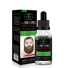 100% Natural Organic Men Beard Growth Oil Beard Wax balm Hair Loss Products Leave-In Conditioner for Groomed Beard Growth 30ml