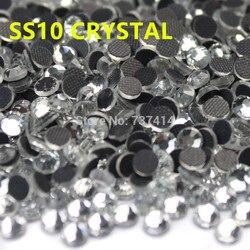 SS10 cristal clair DMC Hotfix Strass Flatback verre fer sur Strass à chaud fer sur Strass pour les motifs de transfert