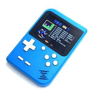 Image 5 - Console de jeu de poche jeu vidéo 8 bits Portable Mini Console de jeu rétro 168 jeux enfants garçon nostalgique joueur