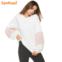 SanHuaZ Brand 2017 Autumn Winter Women S Sweaters Casual O Neck Long Sleeve Loose Pullovers Women