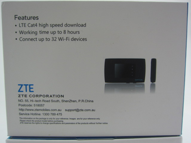 ZTE mf920v 3g 4g White Wireless Router