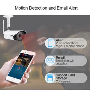 Image 5 - Techege 1080P Hd Wifi Ip Camera Outdoor Indoor 2MP Draadloze Wired Security Camera Bewegingsdetectie Intercom Tf Card Slot