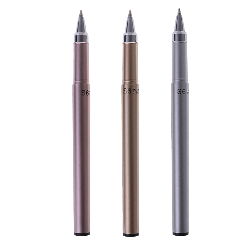 Business Metal Parker Sonnet <font><b>ballpoint</b></font> <font><b>Pen</b></font> <font><b>0.5mm</b></font> Nib office school writing stationery for student gift Metal Luster Gel <font><b>Pen</b></font> image