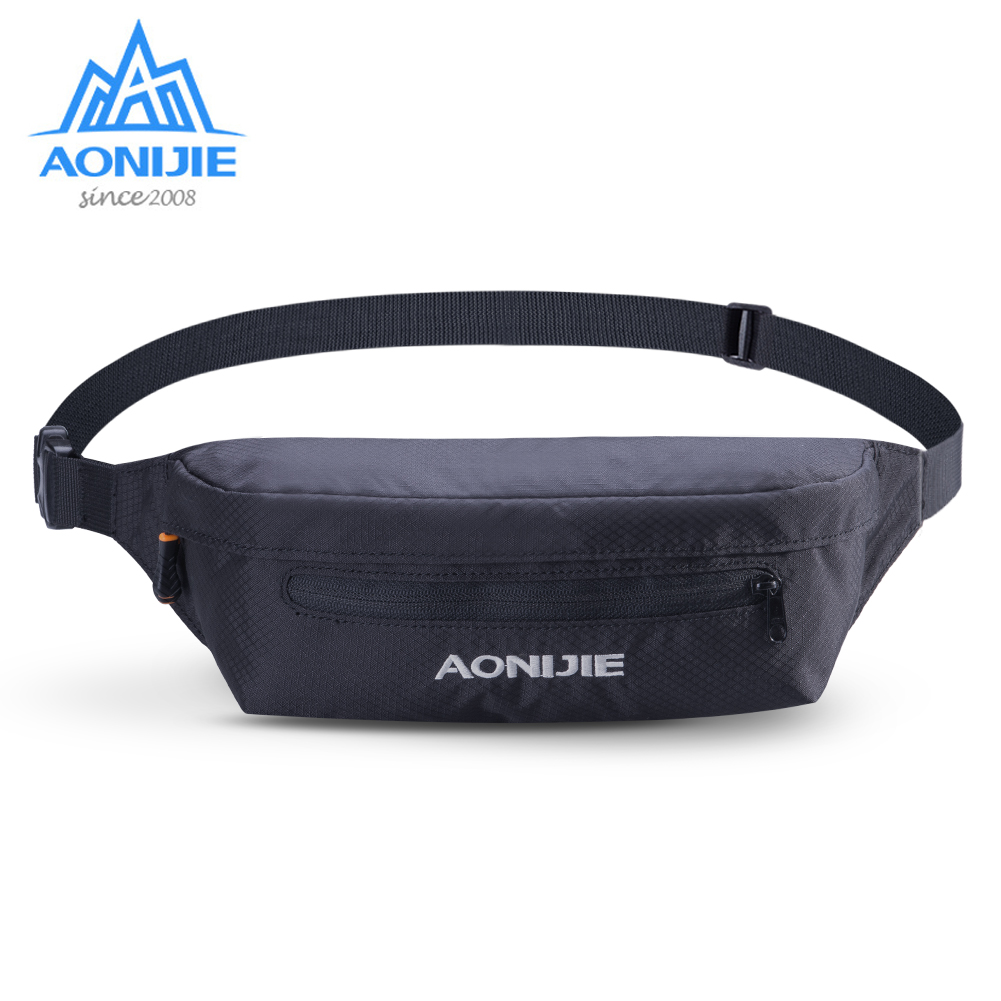 AONIJIE W931 Unisex Running Belt Jogging Waist Bag Fanny Pack Pouch For Travelling Gym Marathon Cycling Workout