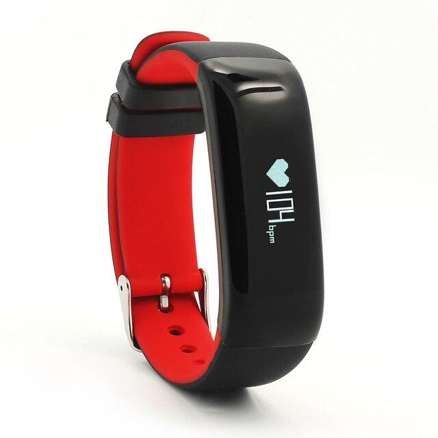 "imágenes para Smartband P1 Bluetooth Heart Rate Monitor de Presión Arterial Monitor de Pulsera Impermeable IP67 Inteligente Pulsera Usable OLED 0.86"""