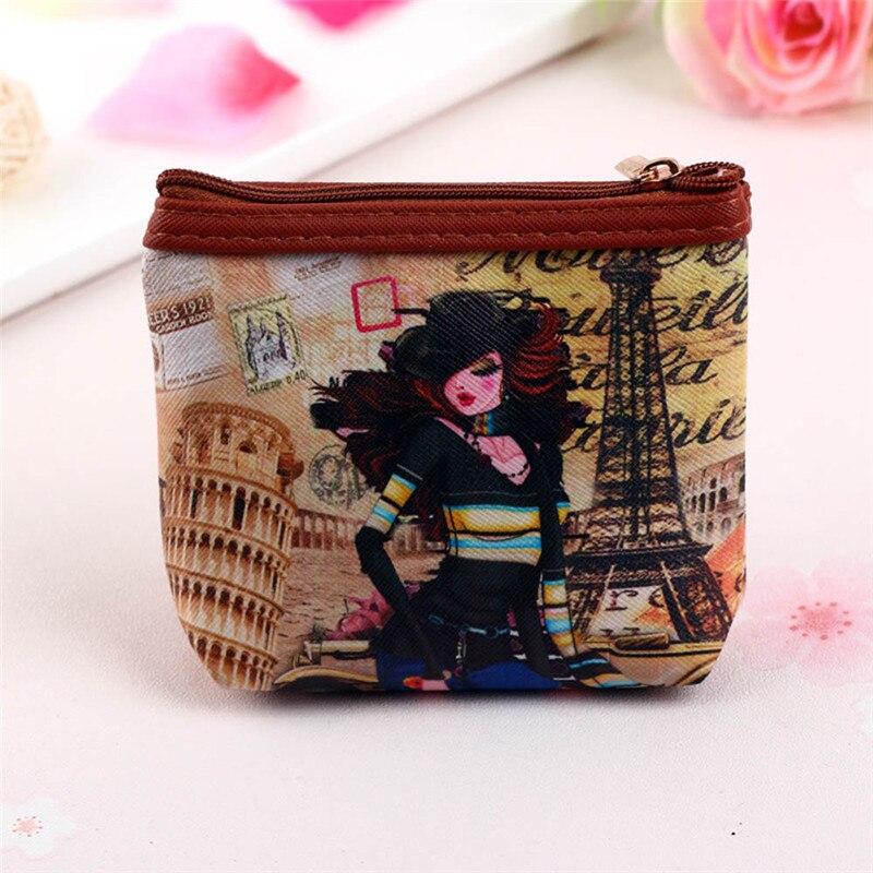 Hot Sale Womens Handbag Clutch Bags Wallet Card bag Coin Purse mini purses girls priting trousse scolaire stylo kawaii bag