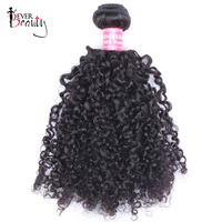 3B 3C Kinky Curly Brazilian Hair Weave Bundles Natural Black 10 28inches Remy Human Hair Extensions 1 Piece Only Ever Beauty