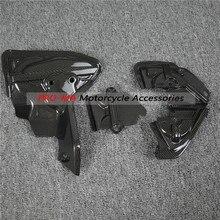 Крышка для ремня мотоцикла, набор из углеродного волокна для Ducati Panigale 1199 1299, обычная 7-2