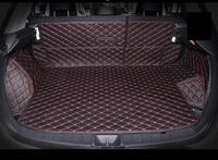 fiber leather car trunk mat for mitsubishi asx Outlander Sport RVR 2010 2011 2012 2013 2014 2015 2016 2017 2018 car accessories