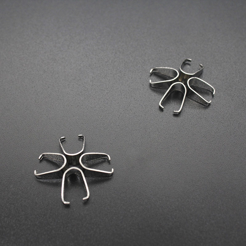 Stainless Steel Clasps Buckle Necklace Pendant DIY Accessories 50pcs in Jewelry Findings Components from Jewelry Accessories