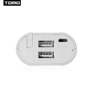 Image 4 - טומו M2 2x18650 ליתיום אוניברסלי סוללה DIY חכם נייד סוללה USB מטען עם LCD תצוגת מסך כוח בנק תפוקה כפולה