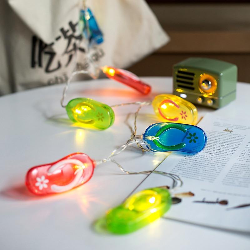 Светодиодный лампы строка водонепроницаемый открытый декоративный светильник бар огни