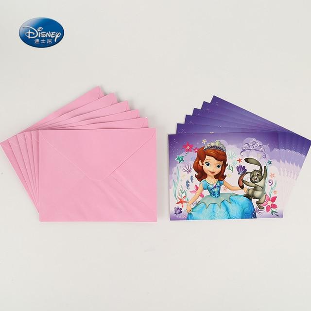 Aliexpress  Buy Disney Party Supplies 6pcs cards+ 6pcs