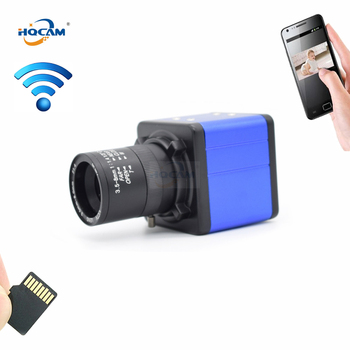 HQCAM CamHi 1080P Audio Mini WIFI BOX IP Camera indoor Wireless Surveillance Home Security Camera Onvif CCTV Camera TF Card Slot