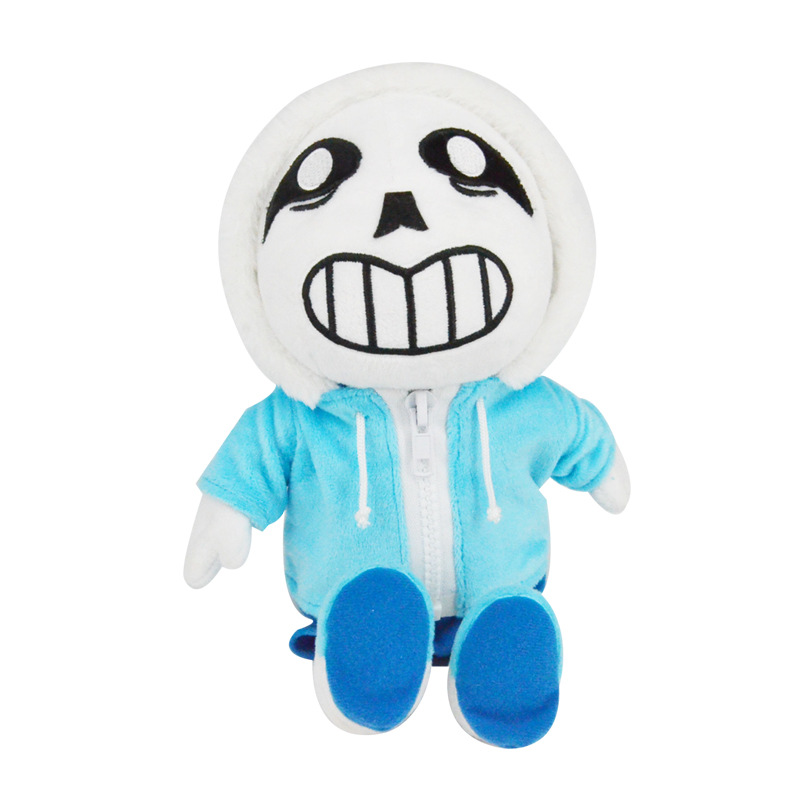 10pcs/lot 23cm Undertale Sans Stuffed Plush Toys Doll Cute Sans Plush Toy Soft Cartoon Anime Toy for Kids Children Xmas Gifts