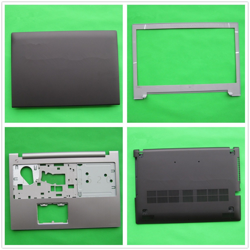 New LCD TOP Palmrest Upper Bottom Base Cover Case For Lenovo Z500 P500 Notebook Back Front Base AP0SY000420