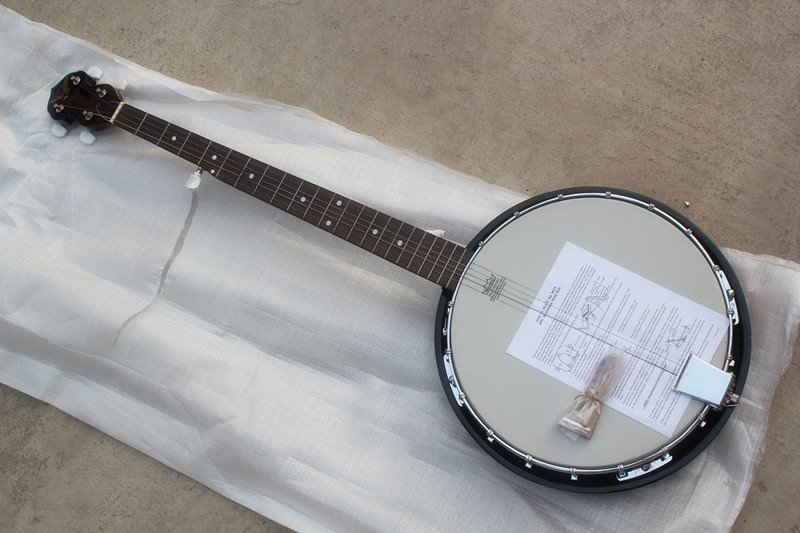 Electric Guitar Strings On Banjo : special price factory custom 5 strings banjo electric guitar with rosewood gingerboard can be ~ Russianpoet.info Haus und Dekorationen
