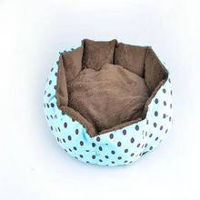 Warmly Pet home pet mat Simple Wave point dog house Beauty Dots Style dog bed cat bed Basic Pets Cushion dog Pad cat bed house