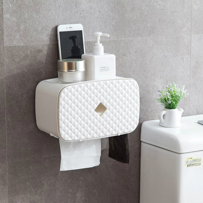 NEW Kitchen PP Plastic Wall Mount Paper Towel Holder ...