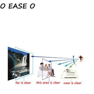 Image 4 - 1.61 Freeform Multi Focal Progressive Lens mężczyźni kobiety z soczewką cięcie i montaż ramy prawidłowe ostrość wzroku