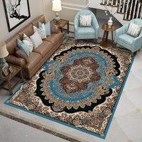 Importação tapetes persas para sala de estar quarto retângulo tapete grosso polipropileno casa decorativa sala estudo tapete|Tapete| |  -