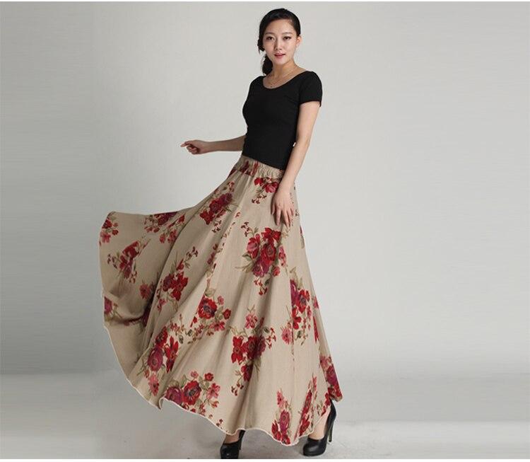 Long Skirts Women
