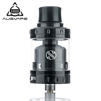Augvape Merlin Mini RTA Tank Atomizer 24mm 2ML Single Dual Coil Deck Dual Airflow Vape Electronic