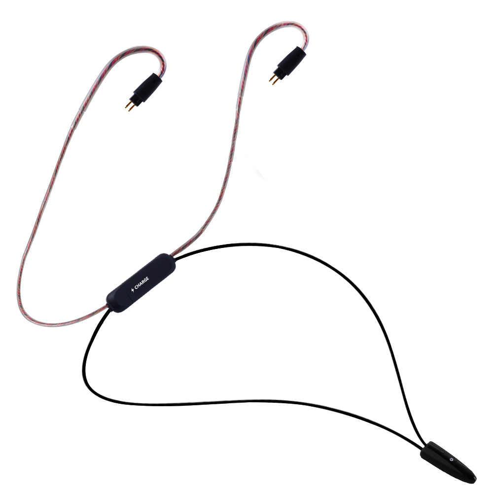YINYOO BT4 bezprzewodowy zestaw słuchawkowy Bluetooth 4.1 APT-X APTX kabel słuchawki hi-fi MMCX 2PIN kabel służy do V20 V80 ZS10/AS10 Yinyoo HQ5 HQ6 HQ8